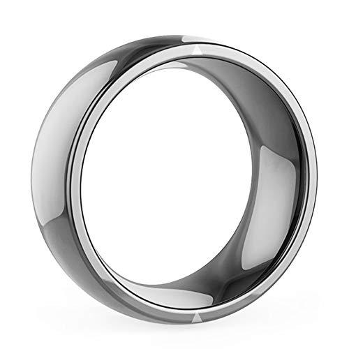 DXH Smart-Ring, R4 Intelligente Ringe für Frauen-Männer wasserdichte staubdichte Fall-Proof Smart Ring Geeignet für iPhone Samsung Huawei für Ios Android,12