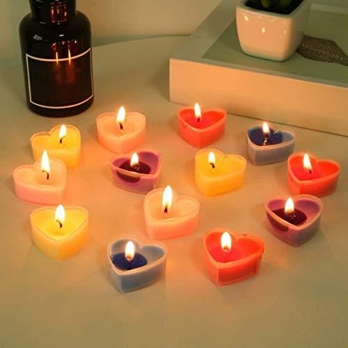 FUSSUF Unscented teelichtern Masse Paraffin Gepresste Wachs, for Hauptdekor Tischdekoration Birthday Parties Teelicht (Color : D)