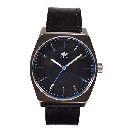 Adidas Herren Analog Quarz Smart Watch Armbanduhr mit Leder Armband Z05-625-00