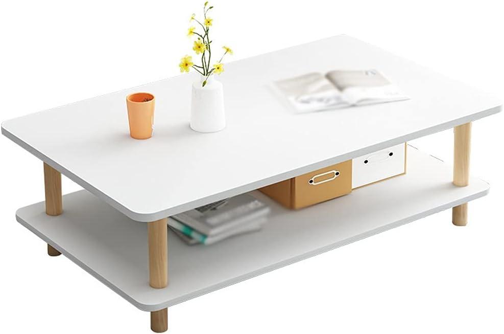 Mesa de Centro Mesa de café Mesa de té industrial de piso múltiple, usado para decorar el dormitorio de la oficina en la mesa pequeño apartamento en forma de cóctel de bajo forma de mesa Mesa Centro