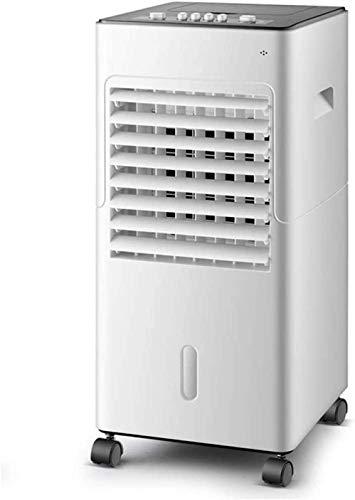 Lapden Enfriador evaporativo portátil Aire Acondicionado móvil Ventilador con Control Remoto 24 Pulgadas Altura 3 velocidades Viento del Dormitorio de la Oficina compartida