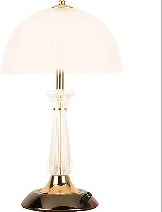 テーブルランプ テーブルランプベッドルームベッドサイドランプシンプルでモダンなクリエイティブ調光可能な暖かいロマンチックホーム暖かいテーブルランプLED読書灯 A+