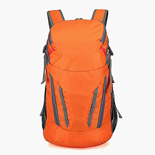 WUHUAROU Chaleco de hidratación Mochila Bolsa de Agua de vejiga de 2 l Opcional Ligero para Trotar al Aire Libre Deporte Sendero Correr Senderismo Ciclismo Camping (Color : Orange)