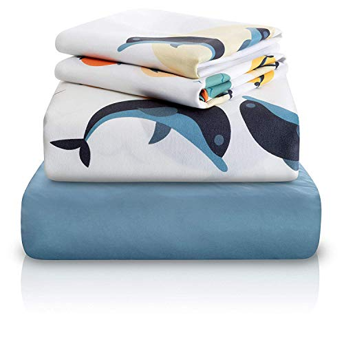 """Chital 4 Pc Twin Bed Sheets 
