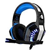 Cascos para Xbox One PS4, Beexcellent Auriculares Gaming Bajo...