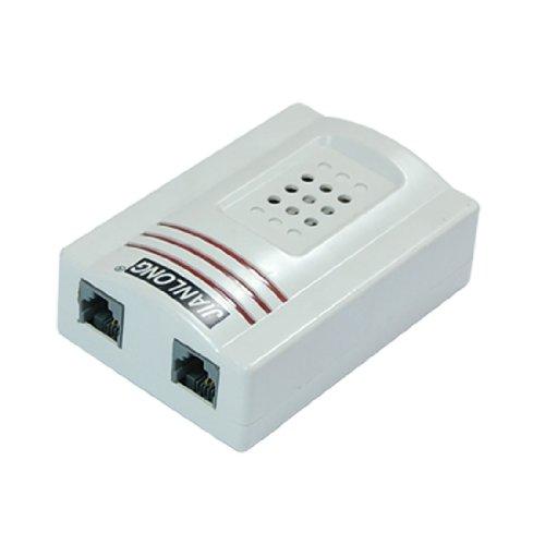 Uxcell RJ11 Adapter Louder Telephone Ring Flash Amplifier Ringer for Landline Telephone