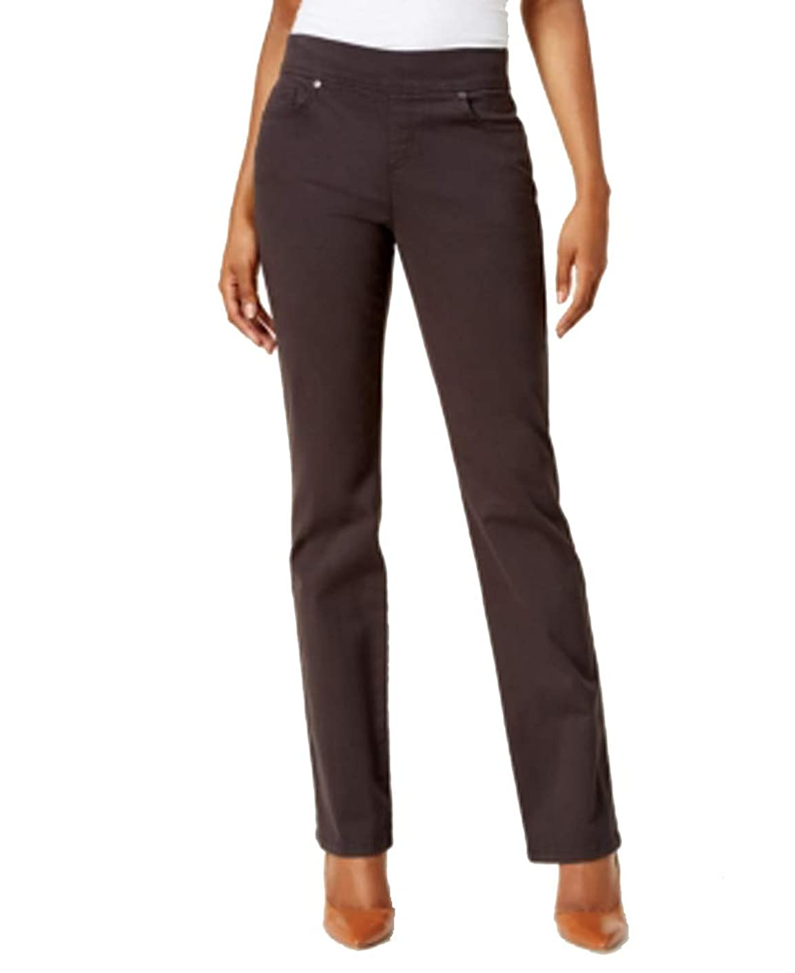 Style & Co. Petite Pull-On Straight-Leg Jeans,