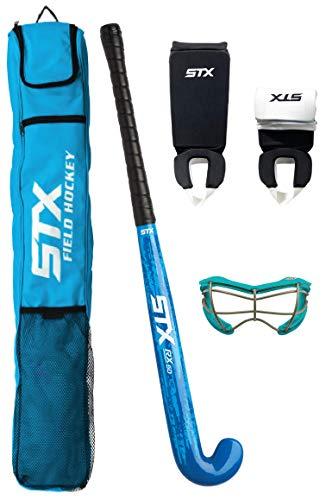 """STX Field Hockey Rookie Starter Pack, with 2See-S Goggles, 32"""""""