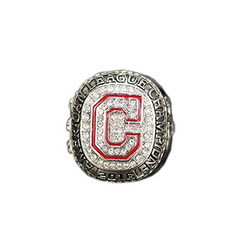 Fei Fei MLB 2016 Cleveland Indians Championship Ring Champion Ring Stilvolle Einfachheit Ring Sammlung Souvenirs Fans Geschenke,with Box,11#