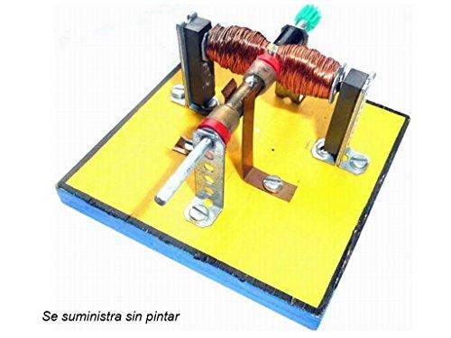 CEBEKIT - Motor eléctrico básico, Kit didáctico, Color Beige (Fadisel C-6145)