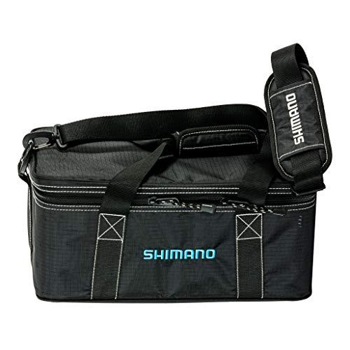 Shimano Bhaltair Reel Bag Fishing Gear, Black/Blue, MD