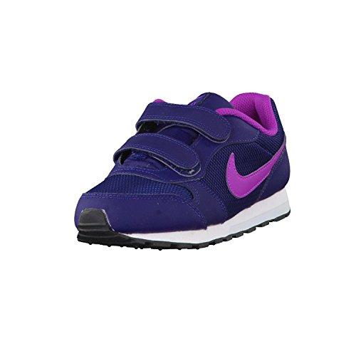Nike 807320-401, Zapatillas de Trail Running Niña, Azul (Midnight Navy/Hyper Violet-Blue Tint), 33.5 EU