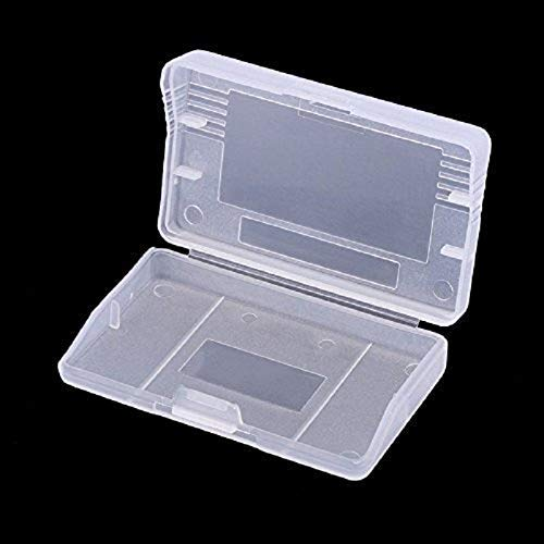 WiCareYo Clear Protection Game Case Dust Cover for Gameboy Advance GBA Pack 10PCS