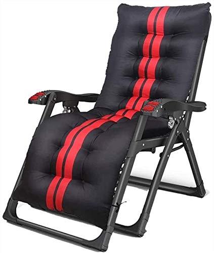 PULLEY - Sedia reclinabile da giardino, portatile, con spessore imbottito, per sedie da balcone, sedia da uomo anziano, sedia pieghevole per sedersi e sdraiarsi (colore: C)