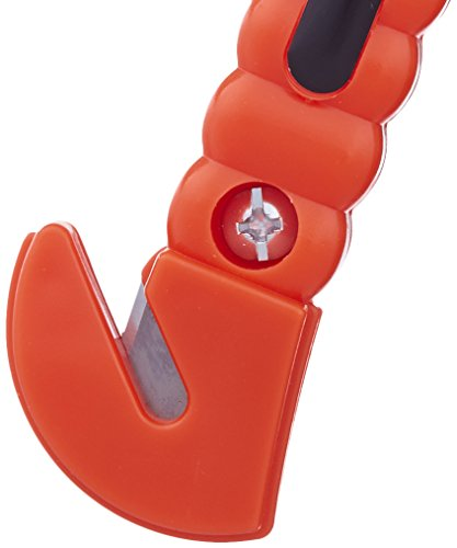 Amazon Basics Emergency Seat Belt Cutter and Window Hammer Tool, Car Accessories