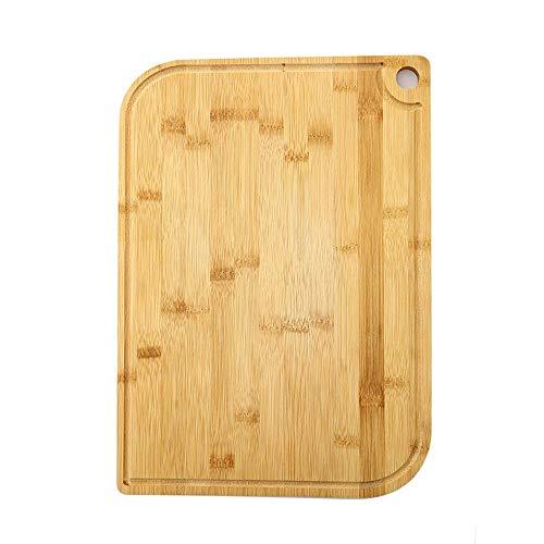 AXWT Cutting Board Large Breadboard Bamboo Household Rectangle Thicken Fruit Chopping Board Panel Dish Board Kneading Board Set (Size : 2818.5cm+3323cm)