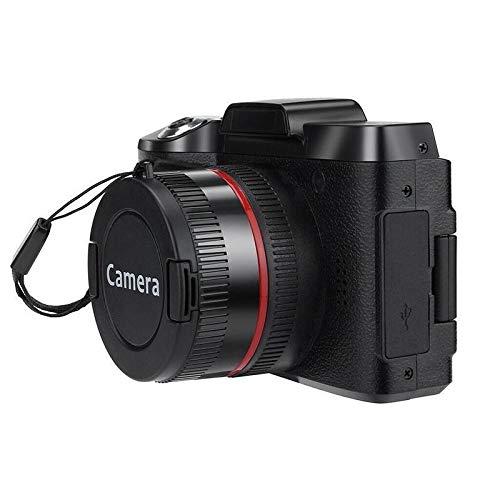 CHENTAOCS Digitale volledige HD1080P 16x digitale zoomcamera professionele 4K HD-camera videocamera camera Vlogging High Definition Camcorder eenvoudig te gebruiken zwart