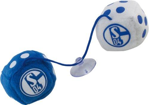 FC Schalke 04 Autowürfel blau und weiß