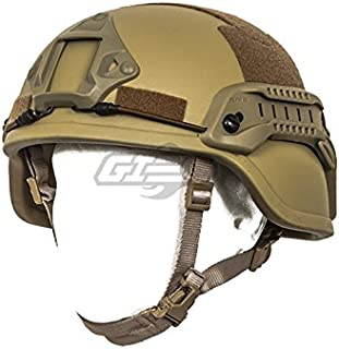 Lancer Tactical Special Action ACH MICH 2000 Helmet (Tan)