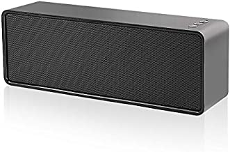 Bluetooth Speakers,Portable Bluetooth Speaker with Loud Stereo Sound,24-Hour Playtime,Built-in Mic Support Phone Calls/AUX/TF/U-Disk,Perfect Portable Wireless Speaker for iPhone,Android,PC and More