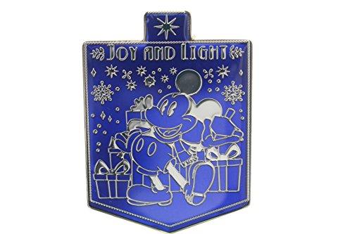 Disney Happy Hanukkah Joy and Light Pin