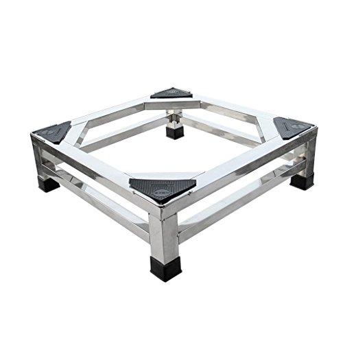 Zfggd base de machine à Laver Cadre de Rack en Acier Inoxydable Support de Rouleau Étagère Universelle Automatique Base de réfrigérateur (Taille : 20cm)