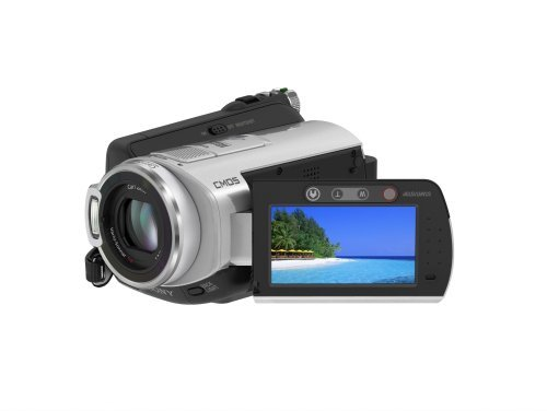 Sony HDR-SR5 AVCHD 4MP 40GB High Definition Hard Disk Drive Camcorder with 10x Optical Zoom (Discontinued by Manufacturer) (Renewed)