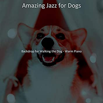 Backdrop for Walking the Dog - Warm Piano