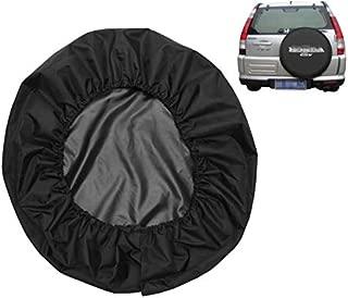 Spare Tire Cover Leather Car Truck SUV Camper for Honda CRV CR-V Size M R15 235/65R17 255/65R16 235/75R15 245/70R15 255/65R16 (Diameter 28inch-30inch)