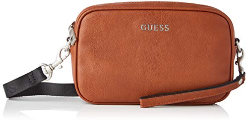 Guess Scala Small NECESSAIRE, Bags Briefcase Uomo, Brown, One Size