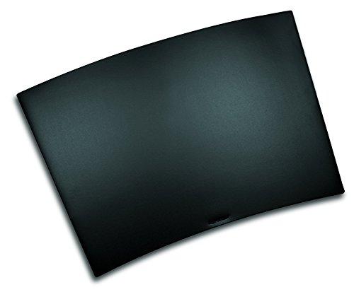 Läufer 40598 Durella Trapez Schreibtischunterlage, 50 x 70 cm, schwarz, trapezförmige Schreibunterlage