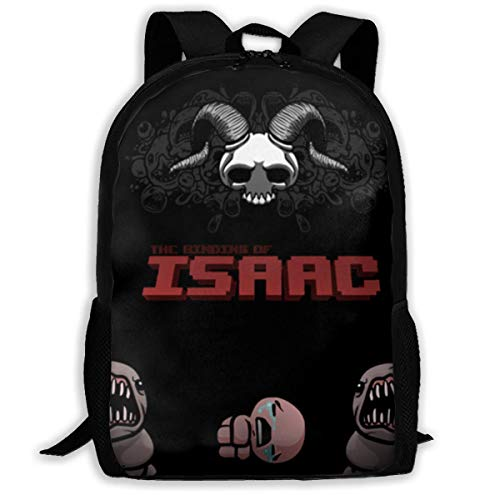 MUUQ The Binding of Isaac Travel Backpack Kids School Bags Print Backpacks Teenagers Daypack for Boys Girls