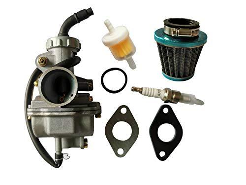 shamofeng PZ20 Carburetor Kit For Go Kart Dirt Bike 50cc 70cc 90cc 110cc 125cc TaoTao Kazuma Baja Honda CRF50F XL75 CRF80F XR50R