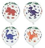 Partyklar 10 Luftballons Dinosaurier Motiven bunt 30cm
