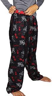 Image of Black BB-8, C-3PO, R2-D2 Lego Star Wars Pajama Pants for Boys