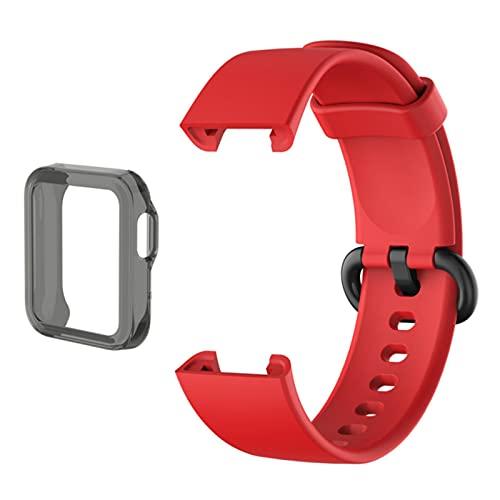 Correa para XiaoMi Mi Watch Lite Sport Banda de silicona para Mi Watch Lite Smart BeltPulsera Reemplazo de la pulsera