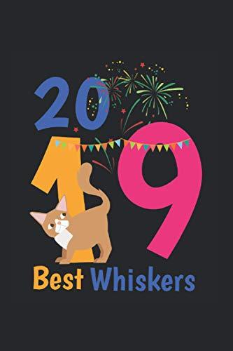 Kalender 2021: Silvester Neujahr 2019 Guten Rutsch Geschenk Katze 120 Seiten, 6X9 (Ca. A5), Jahres-, Monats-, Wochen- & Tages-Planer