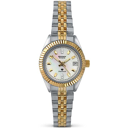 Sekonda Ladies Diamond Bracelet Watch 4548
