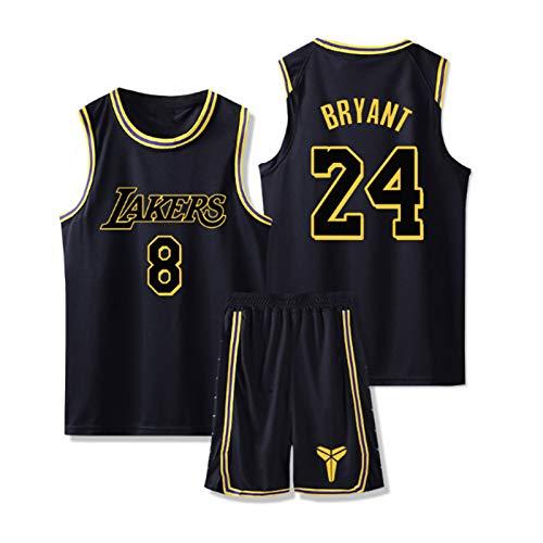 WXFO Men 's Basketball Jersey-Kobe - Lakers # 8/# 24 Jersey Set, Mamba...
