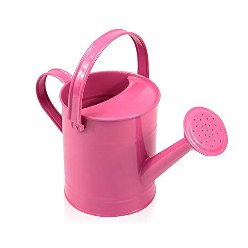 æ— Regadera de metal de 1,5 l para regar el jardín, de hierro, de jardín o de granja, para plantas de hogar, flores, interior y exterior