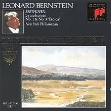 Beethoven: Symphonies Nos. 1, & 3 - Eroica Bernstein Royal Edition #3