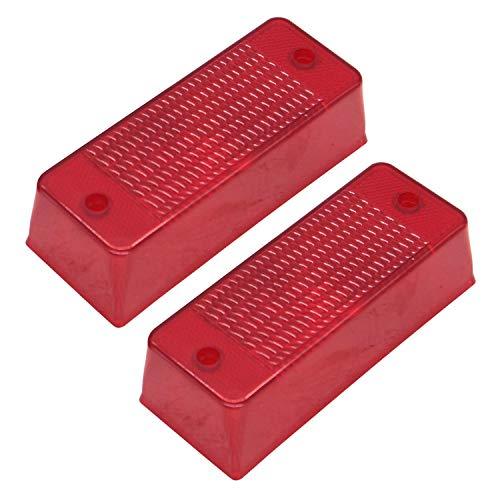 2 x rotes Rücklicht, E-6672276 6672276 6670284 für Bobca t Skid Steer Loader S450 S510 S530 S550 S570 S590 S595 S630 S650 S750 S777750 0 S85. 0 T450 T550 T590 T630 T650 T750 T770 T870 864 873