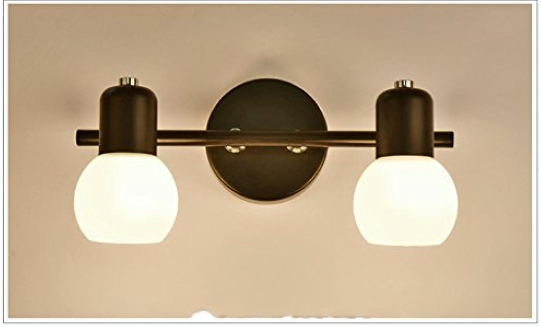 Mode Retro Wandleuchten-WXP European Style geführte Spiegel-Frontleuchten Badezimmer-Wand-Lampe Dresser Make-up-Spiegel beleuchtet Retro-Lampen Innenbeleuchtung Wandbeleuchtung-WXP (Farbe     1)