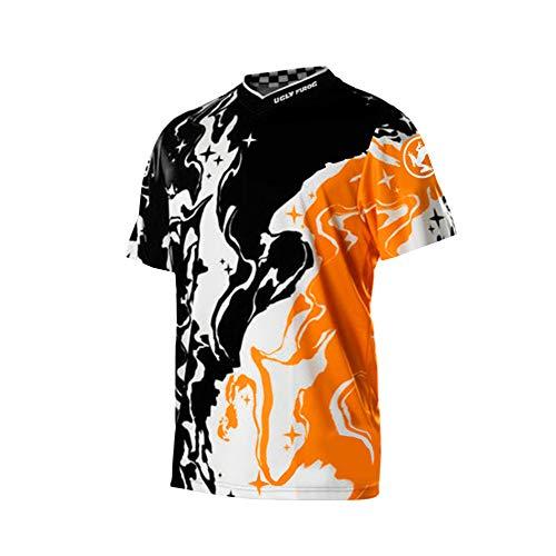 Uglyfrog Frühling Downhill Trikot MTB Jersey Kurzarm Downhill Jersey MTB Bekleidung Motocross Race Wear Sommer DHH03