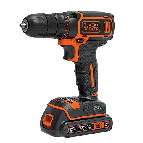BLACK+DECKER 20V MAX Cordless Drill/Driver (BDCDD120C)