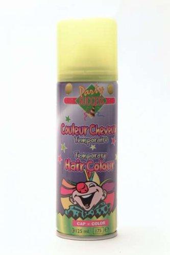 Bombe Laque à cheveux fluo couleur jaune - 125 ml