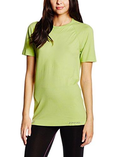 SPAIO ® Relieve Camiseta de Mujer, Lima gallega, L/XL