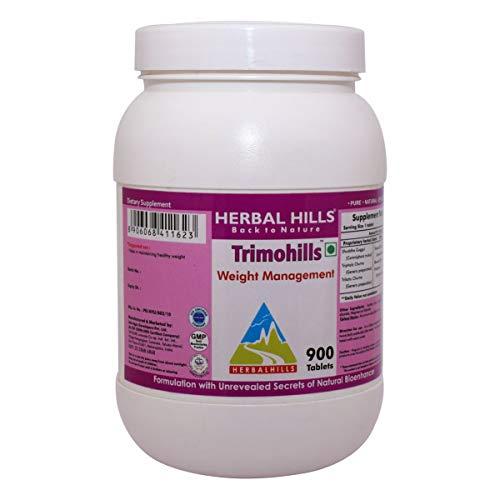 Herbal Hills Trimohills Weight Loss Formula 550mg, 900 Tabletten - Schlankheitsmittel, Gratisversand