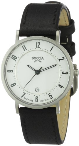 Boccia Damen-Armbanduhr Mit Lederarmband Dress 3296-01