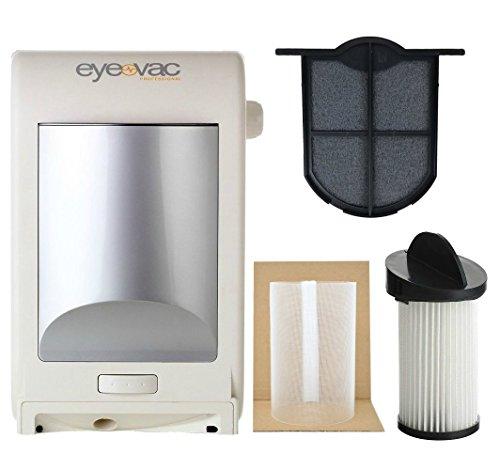 EyeVac EVPRO Design White Professional Touchless Vacuum...